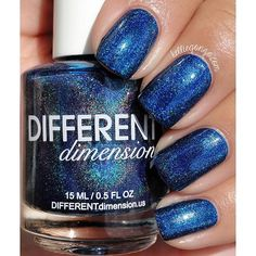 REPOST: The new Different Dimension Fall collection is on my blog today! This is You Blue It by @missibarry, release details at the link in my bio! #differentdimension #indiepolish #prsample ( # @kelliegonzo via @latergramme )
