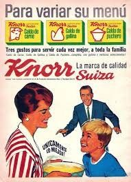 """Knorr Suiza / broths """"To vary your menu"""""""