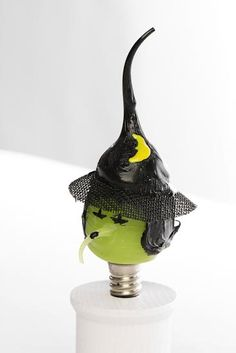 Image detail for -Silicone Dipped Halloween Witch Light Bulb - Decorative Bulbs ...