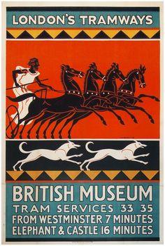London's Tramways - British Museum.