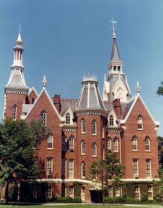 Mercer University Administration Building on the Quad.  Went here for my undergrad, beautiful place!