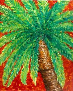 Palm Tree - Tropical Artwork