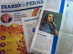 Destaque no Jornal Diário de Pernambuco para o Curso Estratégias de Vendas no Facebook, em Recife, com Camila Porto.