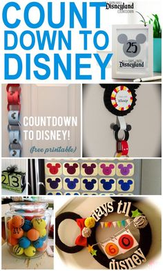50 of the Best Ways to Count Down to a Disney Vacation - Destination Disney: Disney Money Saving Tips, Vacation Planning Advice - Disneyland Countdown, Vacation Countdown, Disneyland Trip, Disney World Countdown, Countdown Ideas, Disney World 2017, Disney World Vacation, Disney Vacations, Disney Travel