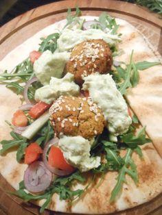 Et Tring kocht: Süßkartoffel-Falafel mit Avocado Dip