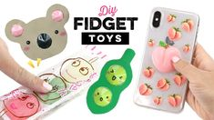 DIY Pop It Fidgets! How to Make Viral TikTok Fidget Toys - YouTube Diy Crafts For Gifts, Fun Crafts, Crafts For Kids, Paper Crafts, Homemade Fidget Toys, Diy Fidget Toys, Figet Toys, Diy Toys, Pop It Toy