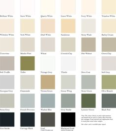Image Result For Masonry Paint Colours