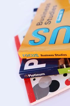 Photos of textbook spines · Book photography for educational use. High quality free photos | Left, corner-view of Grade 12 Business Studies Focus Series book spine, on top of two other books: Platinum and Answer Series. CAPS curriculum aligned textbooks. Free graphics for learning and teaching materials. Creative Commons; use as you please. No copyrights. Textbooks for South African Business Studies, Grades 10-12. Dimensions: 1334px by 2000px JPG · Portrait orientation. Book Spine, Business Studies, Free Graphics, Teaching Materials, Book Photography, Hd Images, Free Photos, High Quality Images, Textbook
