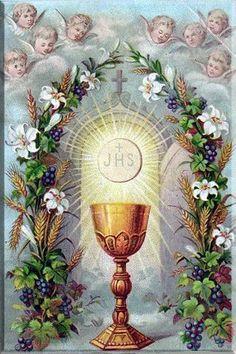 Blessed Feast of Corpus Christi.