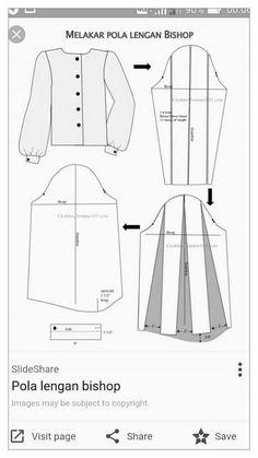 New Dress Pattern, Dress Sewing Patterns, Blouse Patterns, Clothing Patterns, Sewing Pants, Sewing Clothes, Pattern Draping, Diy Wardrobe, Couture Sewing