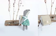 Handmade toys, limited edition dolls, My woodland friends, Popetse Toys