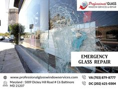 Call the Emergency Glass Repair experts you can rely on for emergency board-ups and other urgent repairs. Call on Window Repair, Falls Church, Glass Repair, Broken Glass, Store Fronts, Good Company, Washington Dc, Windows, Board
