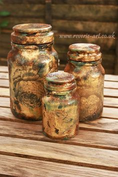 gilding decoupage tutorial