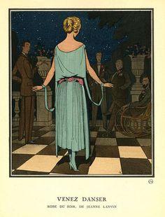 Gazette du Bon Ton - Jeanne Lanvin - 1921