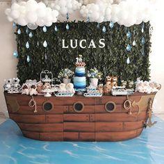 birthday present boyfriend Noahs Ark Cake, Noahs Ark Party, Noahs Ark Theme, Baby Shower Backdrop, Baby Shower Cakes, Baby Shower Parties, Baby Shower Themes, Ballerina Birthday Parties, First Birthday Parties
