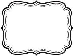 Tag Template Images Of Fancy Gift Free Printable Label Templates Clothing Planner Sticker Android Name Tag Template Blank Paper Label Photoshop Label Template Free Beer Bottle Label Template Photoshop Simple Borders, Borders And Frames, Printable Labels, Printables, Free Printable, Free Label Templates, Black And White Frames, Pantry Labels, Frame Template