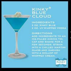 Kinky Blue Cloud
