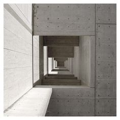Visions of Industrial Death: Louis Kahn - The Salk Institute [California, 1959]