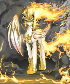 Equestria Daily sometimes forget that Celestia could slam the sun into Equestria at a whim. Can a ruler stay completely sane for thousands of years? What might happen that would throw her over the edge?