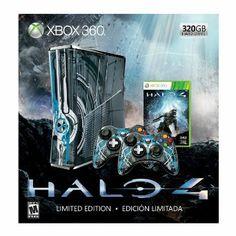 Xbox 360 Limited Edition Halo 4 Bundle --- http://www.amazon.com/Xbox-360-Limited-Edition-Halo-Bundle/dp/B003O6JIFA/ref=sr_1_79/?tag=triniversalne-20