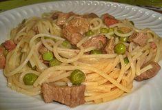 Esparguete com carne de vaca | Receitas Para Todos os Gostos