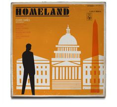 If It's Hip, It's Here: TV Drama HOMELAND Is Captured in 12 Vintage Album Cover Designs