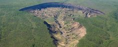 Siberia's 'doorway to the Underworld' Is Getting So Big It's Uncovering Ancient Forests A doorway to 200,000 years ago.