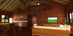 Hawaii Floor Plans: Teak Bali both designs and fabricates custom Wood Homes. Even though we can take your existing designs to our structural Hardwood Building protocols, we actually prefer to design from scratch so we can be in on your Custom House project from the ground floor.