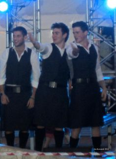 I love this picture Jennifer Kowatch took of Colm and his Em and Ems #CTCruise #kilts
