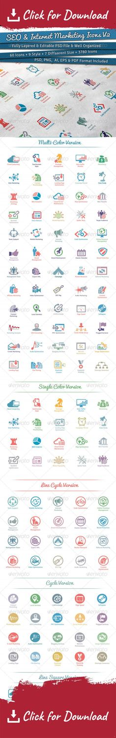 agency, analytics, collaboration, consultancy, content management, conversion optimization, development, icons, marketing, metro, monitoring, network, new media, optimization, page quality, reputation, responsive design, search engine, seo, seo icons, seo services, social media, solutions, vector, web designer, web marketing This Collection of 60 Awesome SEO & Internet Marketing Icons. For those more experienced cookies you can take the items further & add your own creative touch. T...
