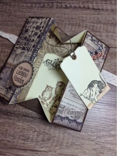 kreativMANUfaktur: Box-Karten # You can find the cat rubber stamp here: https://www.etsy.com/listing/165588056/cat-rubber-stamp-cat-with-cap-unmounted?ref=shop_home_active_11