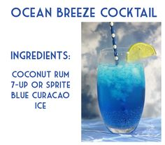 Ocean Breeze Cocktail Recipe - BargainBriana
