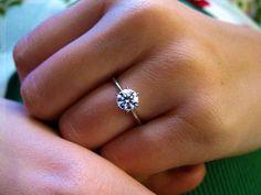Simple Diamond Ring.