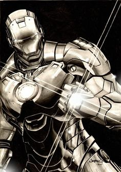 Ironman: Guardian of the Galaxy?  Art by: Jimbo  Did you know that, due to his enormous help with the defeat of Thanos, Starlord personally offered Iron Man a spot in the Guardians of the Galaxy? He accepted! I wonder if we will see an Ironman cameo in the Guardians of the Galaxy movie?