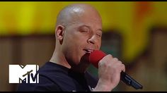 Vin Diesel Sings 'See You Again' For Paul Walker At The Movie Awards   MTV - YouTube