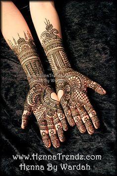 Henna by Wardah of www.hennatrendz.com @Wardah Halim