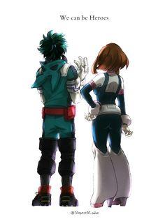 Learn To Draw Manga - Drawing On Demand Boku No Academia, My Hero Academia Memes, Hero Academia Characters, Buko No Hero Academia, My Hero Academia Manga, Anime Characters, Anime Figures, Fan Art Anime, Deku X Uraraka