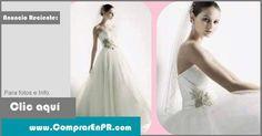 Vendo traje de novia nuevo nunca utilizado Diseñadora oleg cassini Size 8 ajustable atras Color ivory Incluye enagua, estocado y velo $400.00 USD