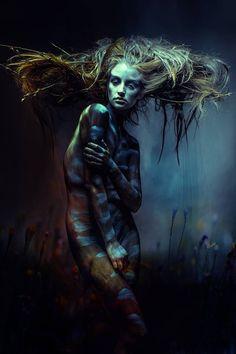 Nicole's media statistics and analytics Dark Art Photography, Artistic Photography, Creative Photography, Portrait Photography, Weird Art, Dark Fantasy Art, Dark Beauty, Art Plastique, Painting Inspiration