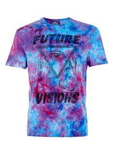 MULTI WASH VISIONS T-SHIRT  ps: LOUD