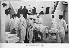 Clinical training, 1917