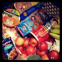 Healthy Eating Grocery List