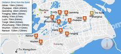Top 10 Ancient Towns near Shanghai, Famous Shanghai Water Towns Shanghai, Village Map, The Bund, Suzhou, China Travel, Trips, Wanderlust, Google Search, Water