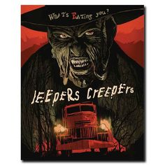 Illustrators create homages to cult classic horror movies for DVD & Blu-ray re-releases - Digital Arts Jeepers Creepers Horror Movie Posters, Best Horror Movies, Horror Icons, Classic Horror Movies, Movie Poster Art, Scary Movies, Poster Wall, Art Posters, Jeepers Creepers