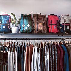New packs on the top shelf  @FrostRiverPhotos @topodesigns  #Online #MadeInNorthAmerica