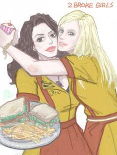 2 Broke Girls Created by 2 Broke Girls, Princess Zelda, Disney Princess, Disney Characters, Fictional Characters, Fan Art, Anime, Drawings, Cartoon Movies