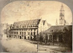 1870-1880,stary Ratusz Old Photographs, Old Photos, Poland, Old Things, Louvre, Building, Travel, History, City
