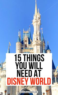 15 things You Will Need At Disney World | Disney Packing List: 15 Things You Are FORGETTING To Bring | what to pack for Disney World | tips for packing for Disney World | what to wear at Disney | Disney travel tips | tips for packing for Walt Disney World | what you must bring in your Disney bag for your vacation #disney