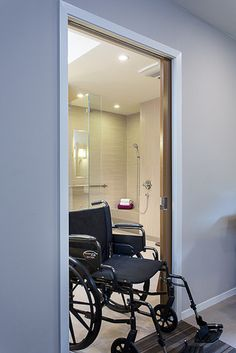 Handicapped bathroom layout important for just in case for Wheelchair accessible doorways