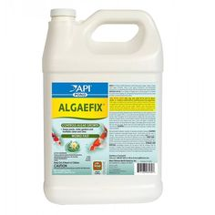 Gallon Pond Care Algae Fix effectively controls many types of green or green water algae, string or hair algae and blanket weed in ponds that contain live plants. Controls existing algae and helps resolve additional algae blooms. Keeps ornamental ponds